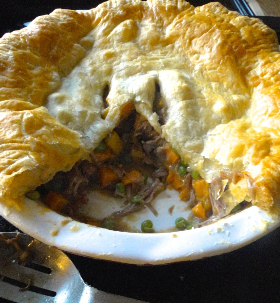 Pork Pie with Winter Vegetables